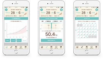 体重管理アプリ